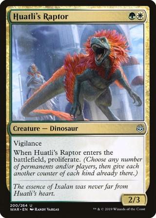 Huatli's Raptor