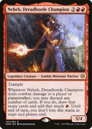 Neheb, Dreadhorde Champion