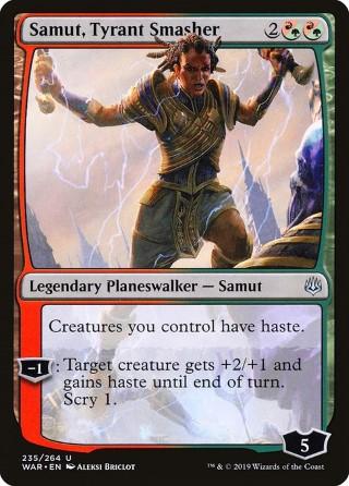 Samut, Tyrant Smasher