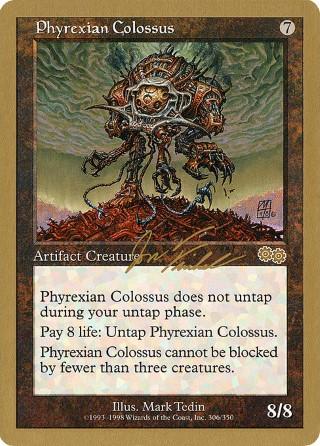 Phyrexian vs Coalition *Rare* MTG 4x PHYREXIAN COLOSSUS