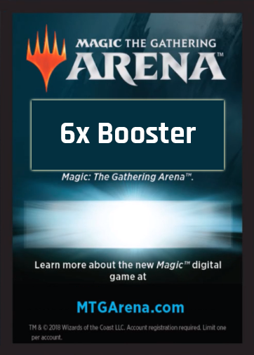 THB Prerelease Code (6x Boosters)