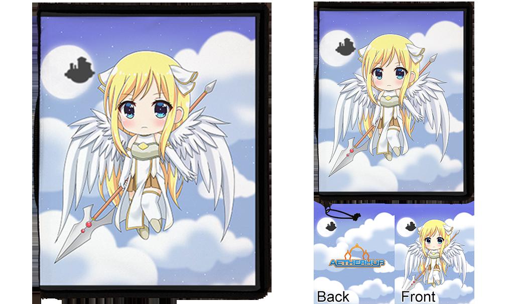 Chibi Angel Card Binder