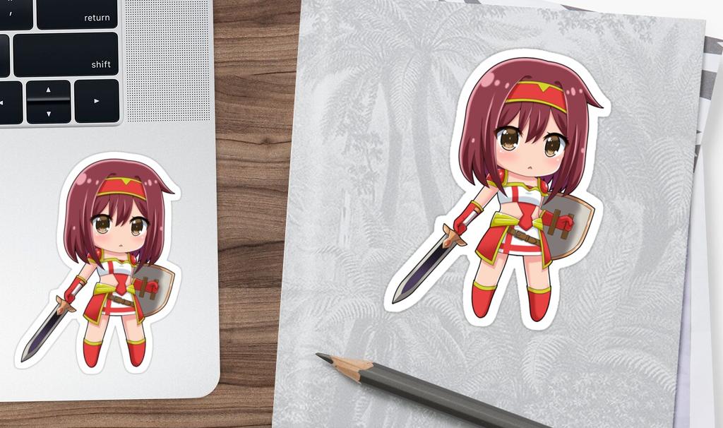 Sticker Chibi Soldier