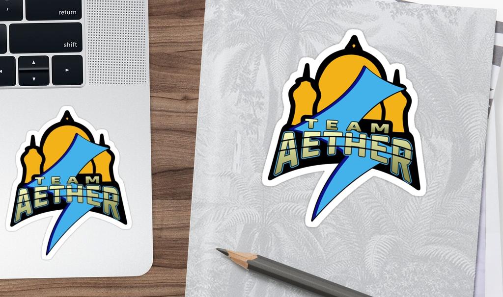 Sticker Team Aether