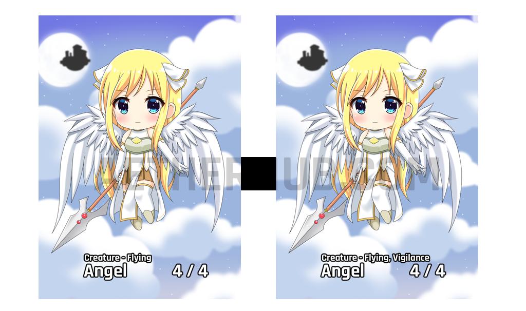Chibi Series Angel Token
