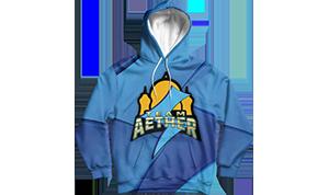 Aetherhub playmat big logo style