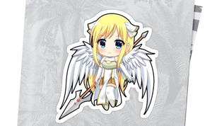 Sticker Chibi Angel