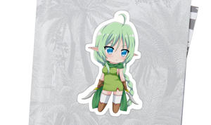 Sticker Chibi Elf