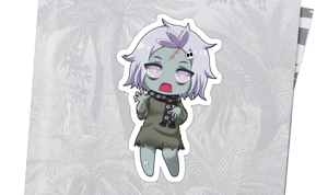 Sticker Chibi Zombie