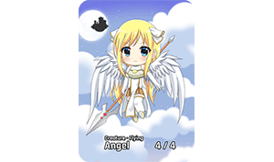 Chibi Series Angel Token