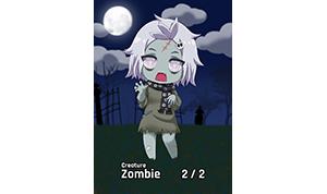 Chibi Series Zombie Token